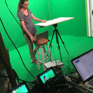 צילום הרצאות באולפן